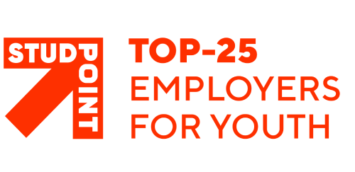 Top 25 employers for youth