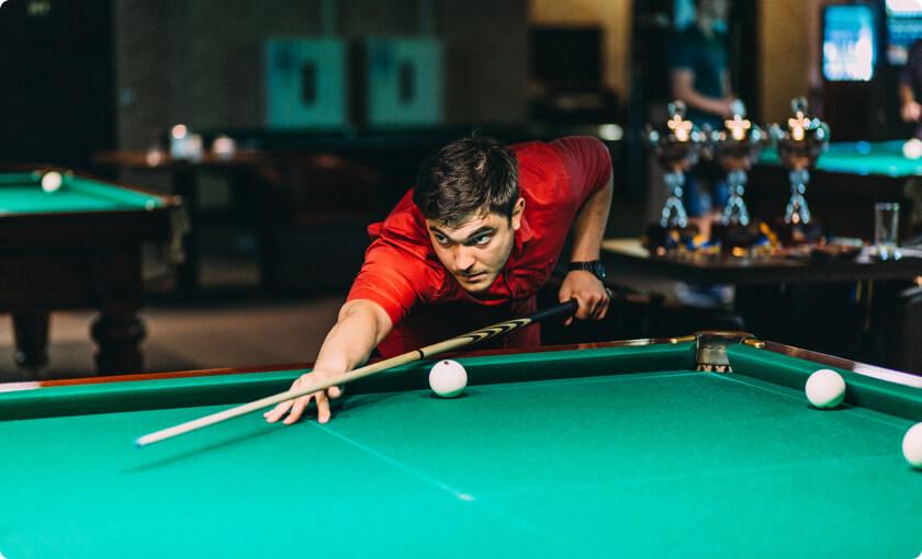 ELEKS billiard club