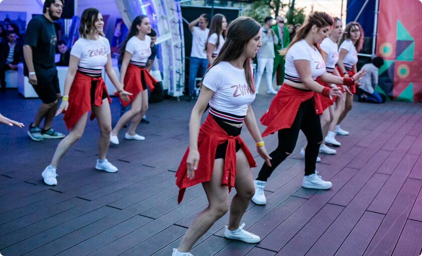 ELEKS dancing team