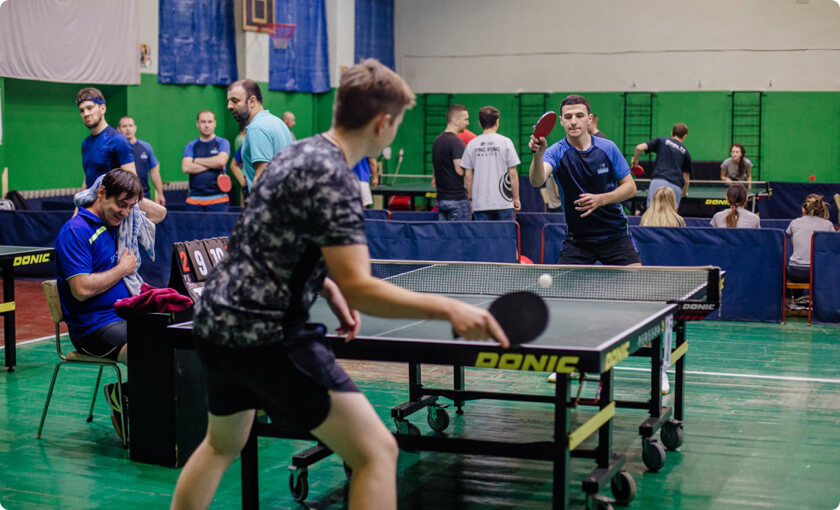 ELEKS table tennis teams