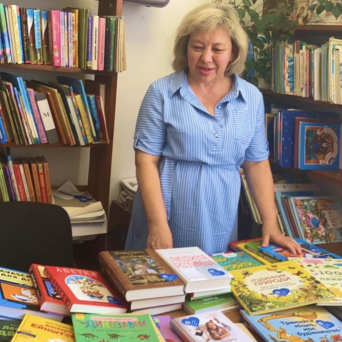 providing village libraries